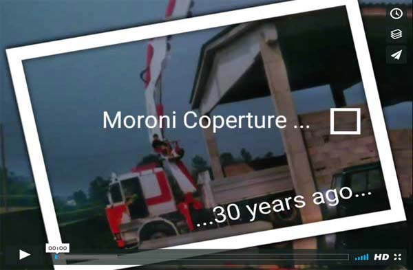 Moroni Coperture Video Storia