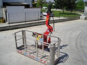 Cesta portapersone - Dimensioni 0,80 mt x 2,50 mt portata 250 kg ( 2 persone )